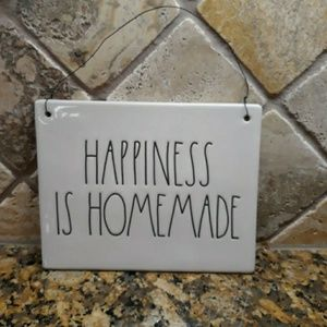 Rae Dunn HAPPINESS IS HOMEMADE Sign